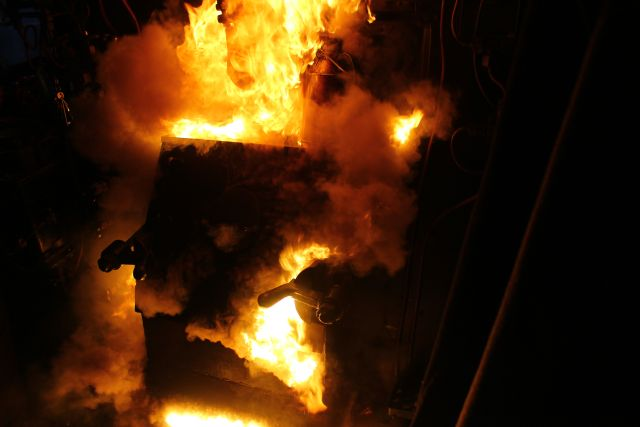 Feuerspektakel auf der 41096
