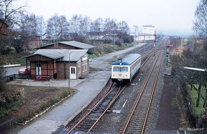 Personenverkehr im Bhf. Klein Mahner